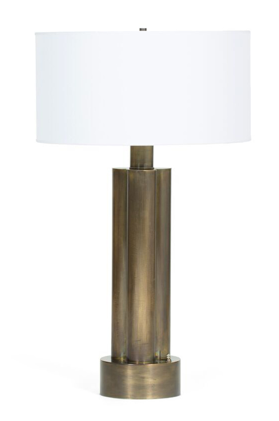 FRG Objects amp Design Art 1970s Brass Table Lamp